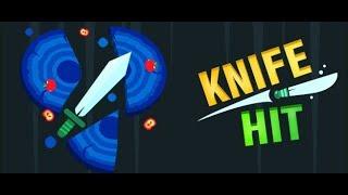 Играю в Knife hit! Часть 1