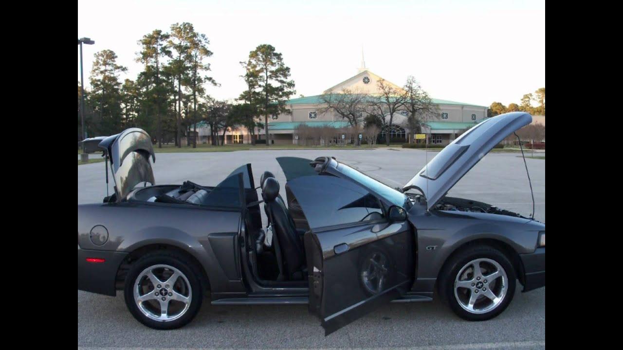 2003 ford mustang gt convertible automatic houston tx 77065 youtube. Black Bedroom Furniture Sets. Home Design Ideas