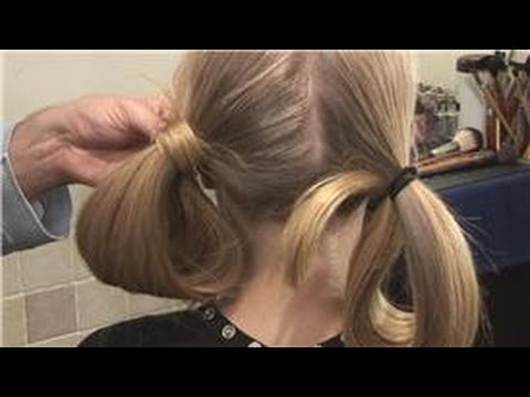 Long Hairstyles : How to Do Tucked Under Pigtails: Long Hairstyles