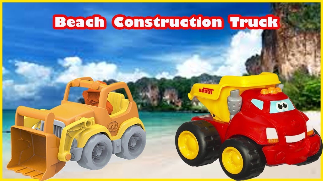 Best Construction Toys And Trucks For Kids : Beach construction truck toys popular