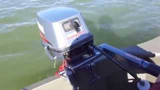 All welded 1436 Jon boat paired with Yamaha 8 HP.