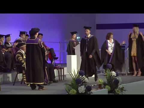 Graduation 2017 - Monday 16:00 Ceremony - Leeds Business School