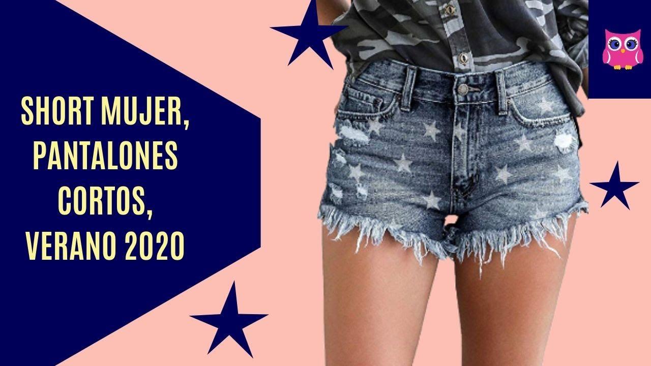 Short Mujer Pantalones Cortos Mujeres Shorts De Moda Verano 2020 Youtube