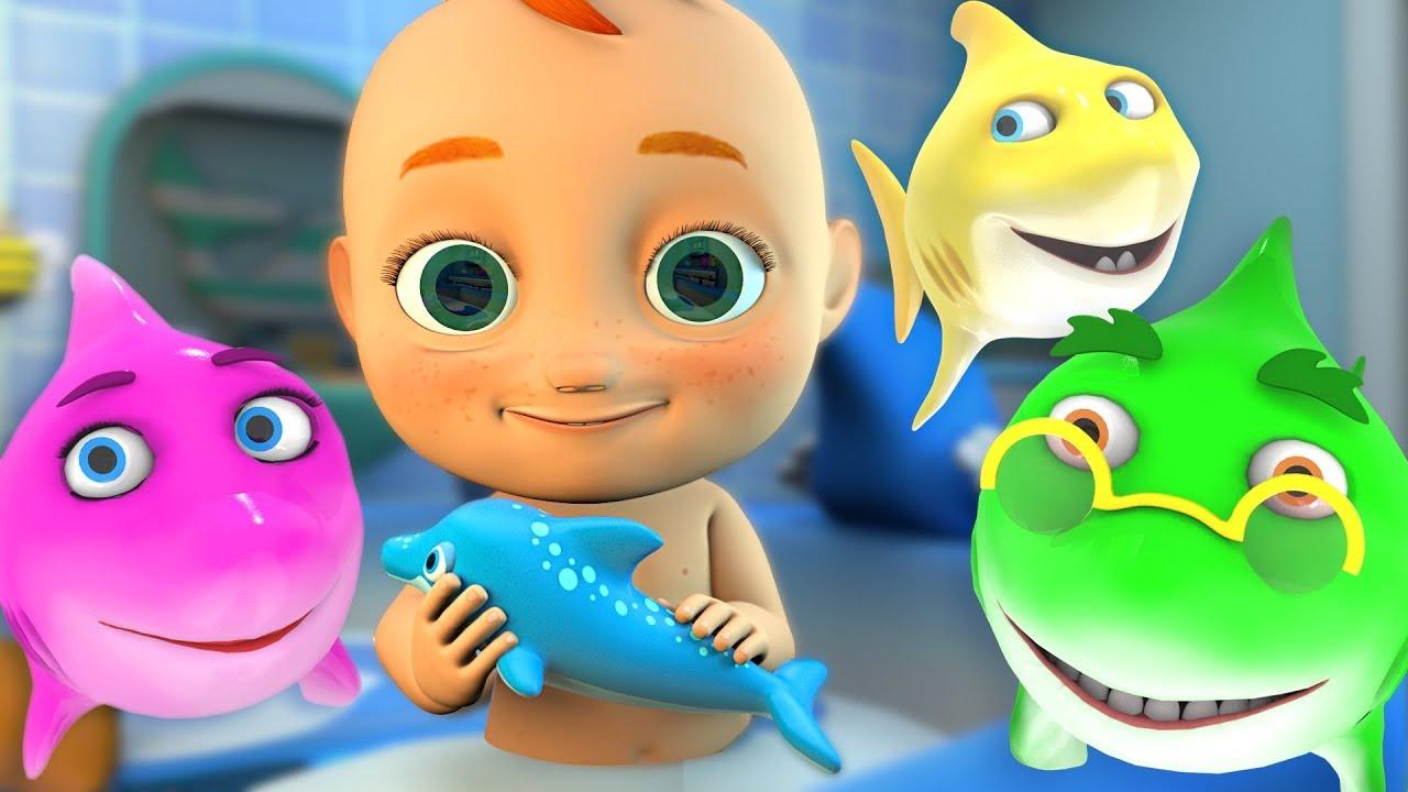 Baby Shark Bath Song | Nursery Rhyme HeyHop Kids - YouTube