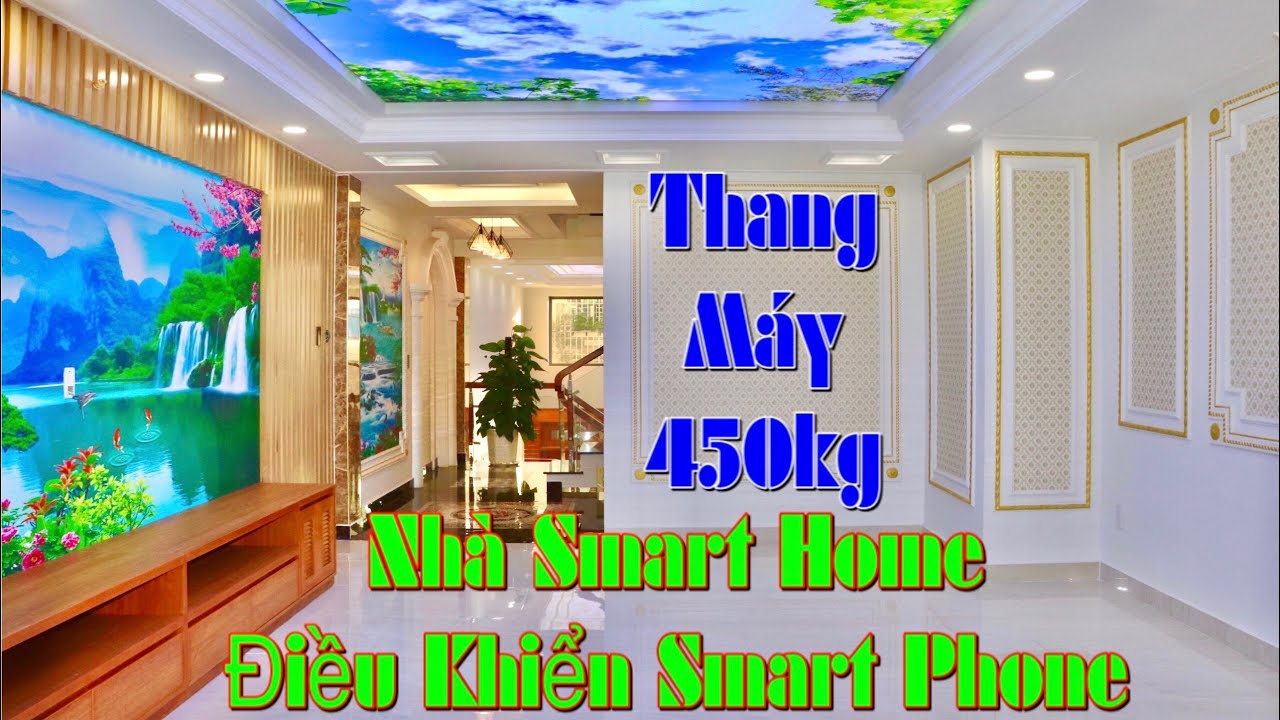 303🔥Bán Siêu Nhà Phố Tân Bình. Công Nghệ 4.0 Smart Home Điều Khiển Bằng smart Phone 4,5mx25m 6 Lầu