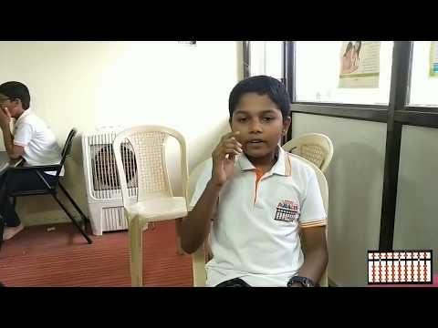 Chanakya Abacus Student Vedant Nalbale 1