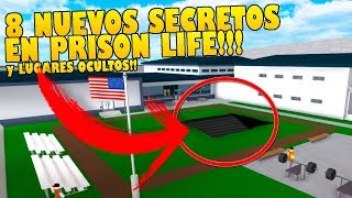 8 NEW SECRETS AND HIDDEN PLACES in PRISON LIFE THAT INSURANCE DO NOT KNOW !!! (ROBLOX)