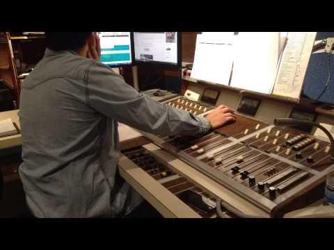 At the job - Radio Board operator