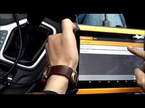 OBDSTAR X300 DP&Key Master DP read pin code and program samrt key on 2016 Jeep Cherokee