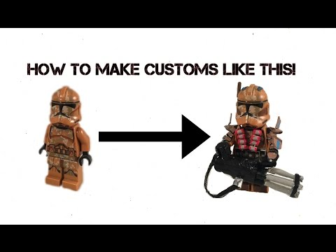 How To Make Amazing Lego Star Wars Clone Troopers Part 1 Tutorial (Updated)