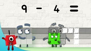 Numberblocks - Scary Sums   Learn to Count   Learning Blocks
