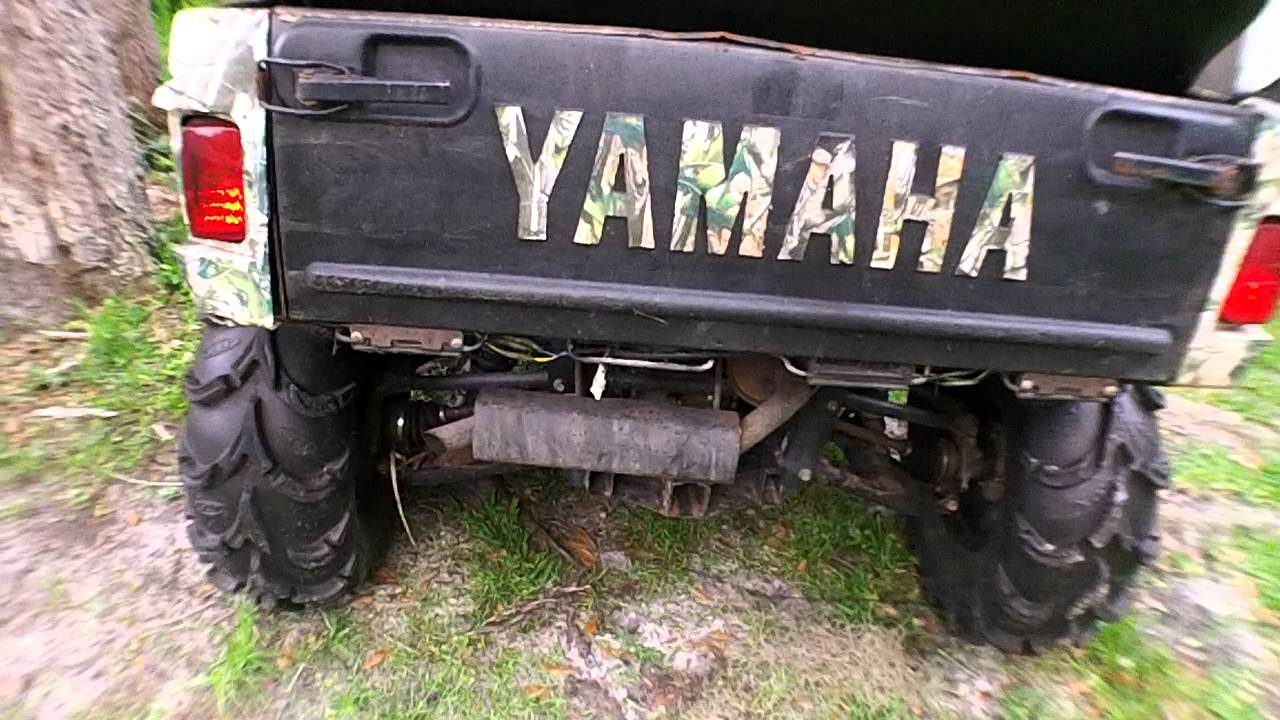 Yamaha Rhino Rear Roll Cage