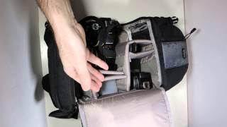 lowePro SlingShot 202 AW- обзор фоторюкзака