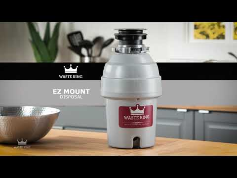 Waste King L-3200 Garbage Disposal Legend Series 3//4 Horsepower Continuous-Feed