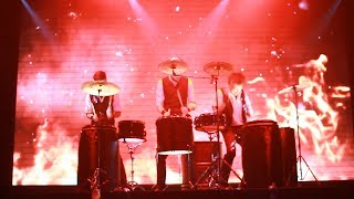 Барабанное шоу барабанщиков
