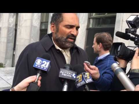 Franco Harris reacts to Spanier verdict