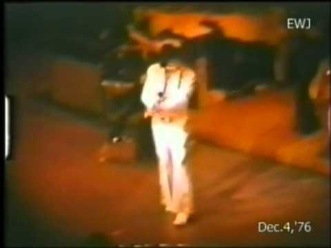 Elvis Presley Live - 6 december 1976 -  Las Vegas - full show video plus audio