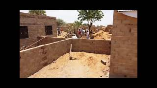 Project in Sudan - construction of houses for flood victims