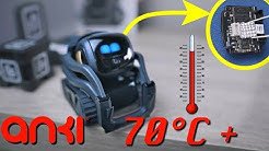 HACK for Anki Vector OverHeating?  how to fix temp issue, Anki Vector Robot Problem[4K]