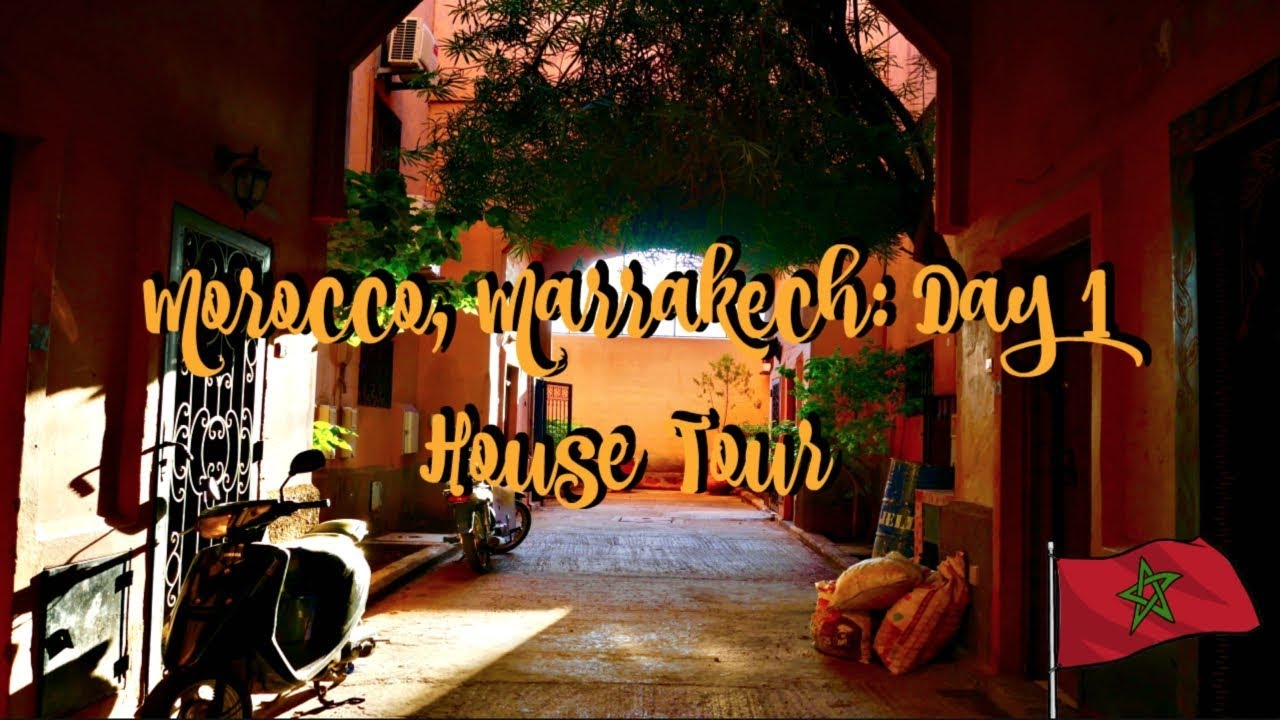 Morocco Day 1: HOLIDAY VILLA HOUSE TOUR