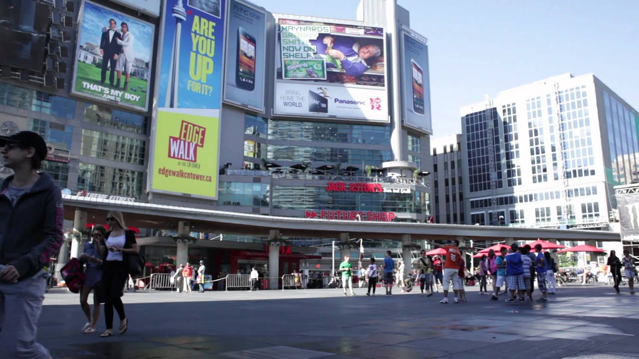Your Sounds: Sam at Yonge-Dundas Square - YouTube