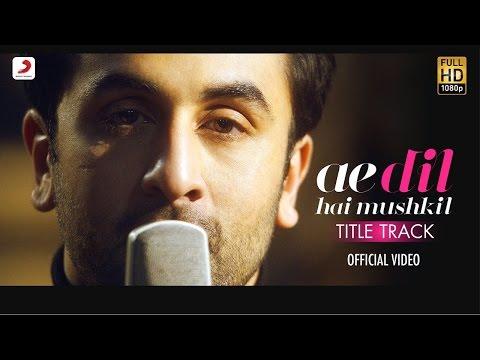 Ae dil hai Mushkil | Karaoke | Official | Arijit Singh | Instrumental | ADHM thumbnail