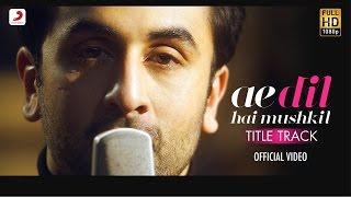Ae dil hai Mushkil | Karaoke | Official | Arijit Singh | Instrumental | ADHM