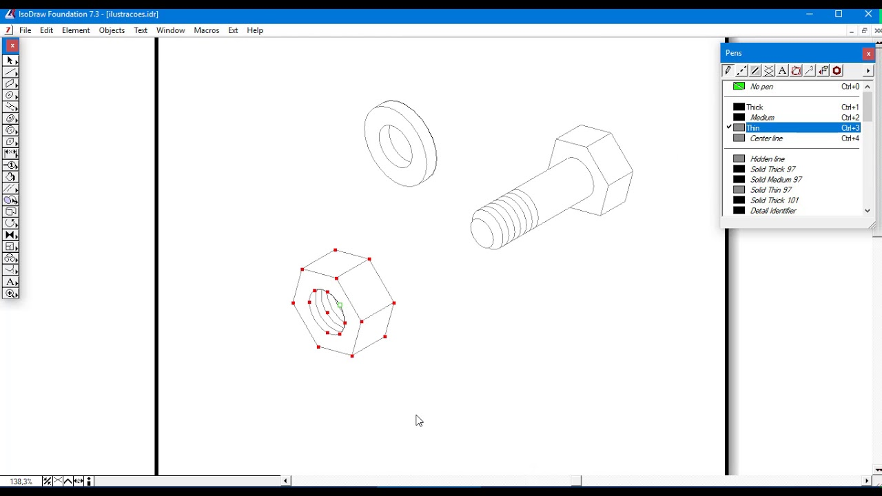 hight resolution of arbortext isodraw tutorial basic parts illustration