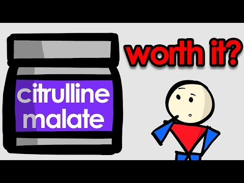 Citrulline Malate Explained - Is It Worth Your Money?