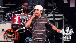 Jah Melody live at Reggae on the Bay 2012
