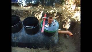 Септик на даче, канализация.(, 2016-06-30T07:49:30.000Z)