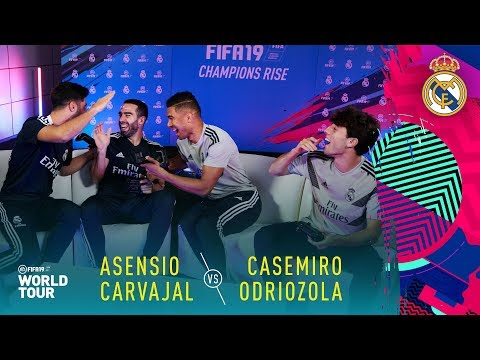 FIFA 19 | Real Madrid Player Tournament | ft. Casemiro, Asensio, Carvajal, Odriozola