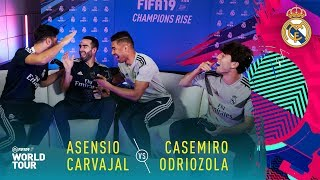 FIFA 19 | Real Madrid Player Tournament | ft. Casemiro, Asensio, Carvajal, Odriozola