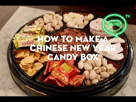 how to fill a chinese new year candy box coconuts tv - Chinese New Year Candy