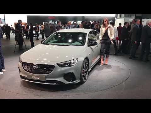 2017 Opel Insignia GSi walkaround at Frankfurt Motor Show 2017
