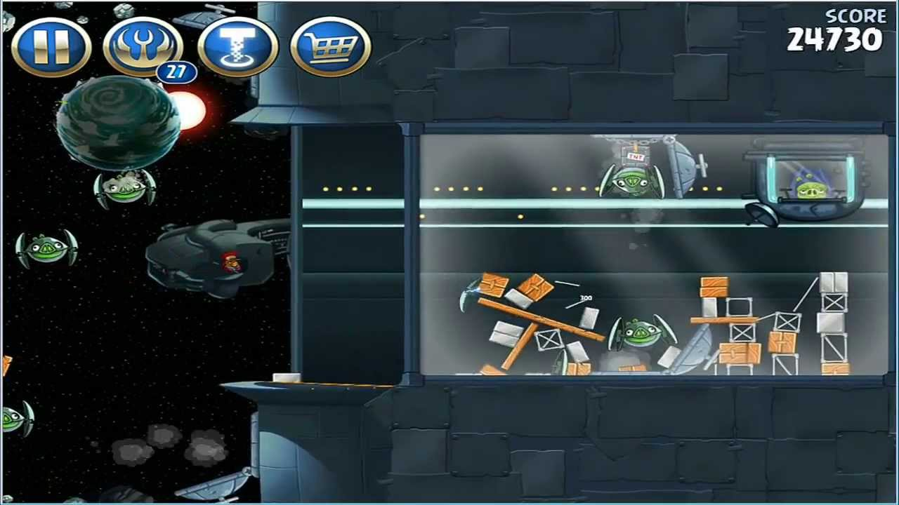 Angry Birds Star Wars 2 Gameplay How To End Leia Mission