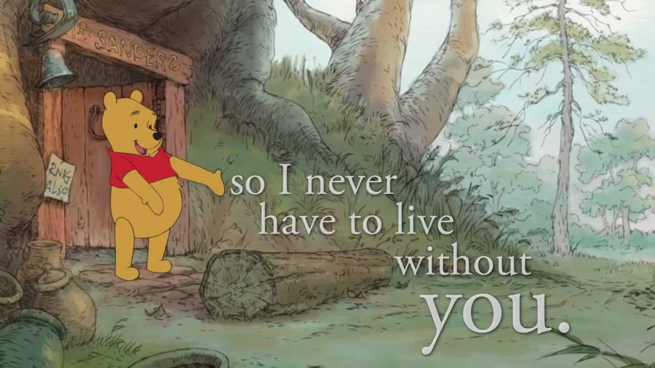 A Thotful Spot From Winnie The Pooh Youtube