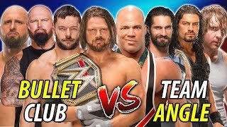The Shield & Kurt Angle vs. Bullet Club (AJ Styles Finn Balor Luke Gallows Karl Anderson)