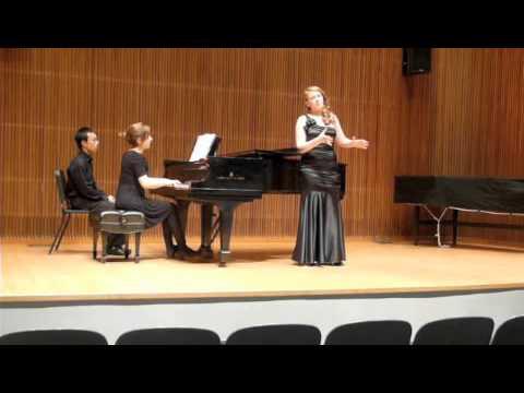 Schubert Set, Junior Recital, Oberlin Conservatory- Erin Alcorn