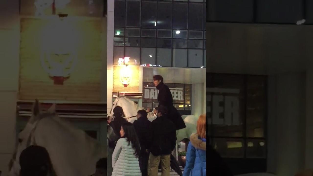 이민호  Hậu Trường Phim Quân Vương Bất Diệt Quay Tại Busan Korea Lee Gon