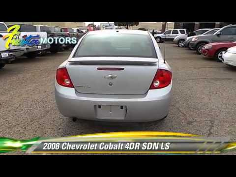 Used 2008 chevrolet cobalt ls lubbock youtube for Fiesta motors lubbock tx