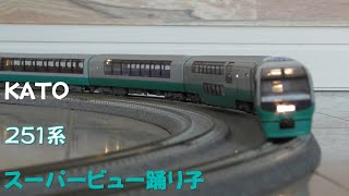 "【Nゲージ規格鉄道模型】KATO 251系 特急スーパービュー踊り子/251 Series Limited Express ""Super View Odoriko"""