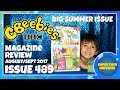 Cbeebies Magazine August Sept 2017 489 Big Summer Issue Bing, Topsy & Tim, Bing, Hey Duggee, Kazoops