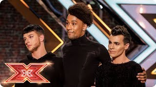 The Clique give a well-heeled performance! | Auditions Week 3 | The X Factor 2017