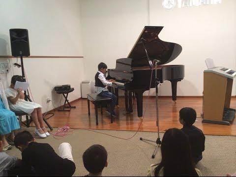 Aadi's Solo Piano Performance @Yamaha Junior Concert Hall Singapore