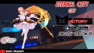 Gambar cover English Version CBT Rilis !!! Eternal City (ENG)  Android/iOS Anime Action RPG