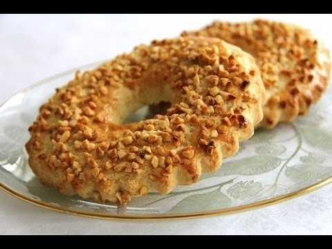 видео: Челлендж...на чем лучше печь ))))  кольцо с орехами....