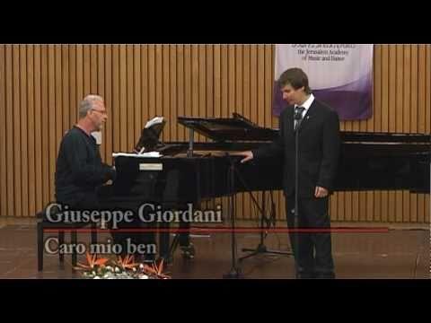 Caro Mio Ben - Giuseppe Giordani