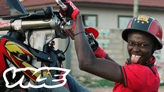 The Daredevil Bikeriders in Ghana