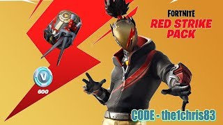Fortnite NEW RED STRIKE PACK (en)